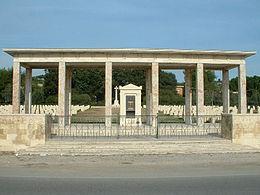 Siracusa, corona d'alloro al cimitero degli inglesi per la commemorazione dei defunti