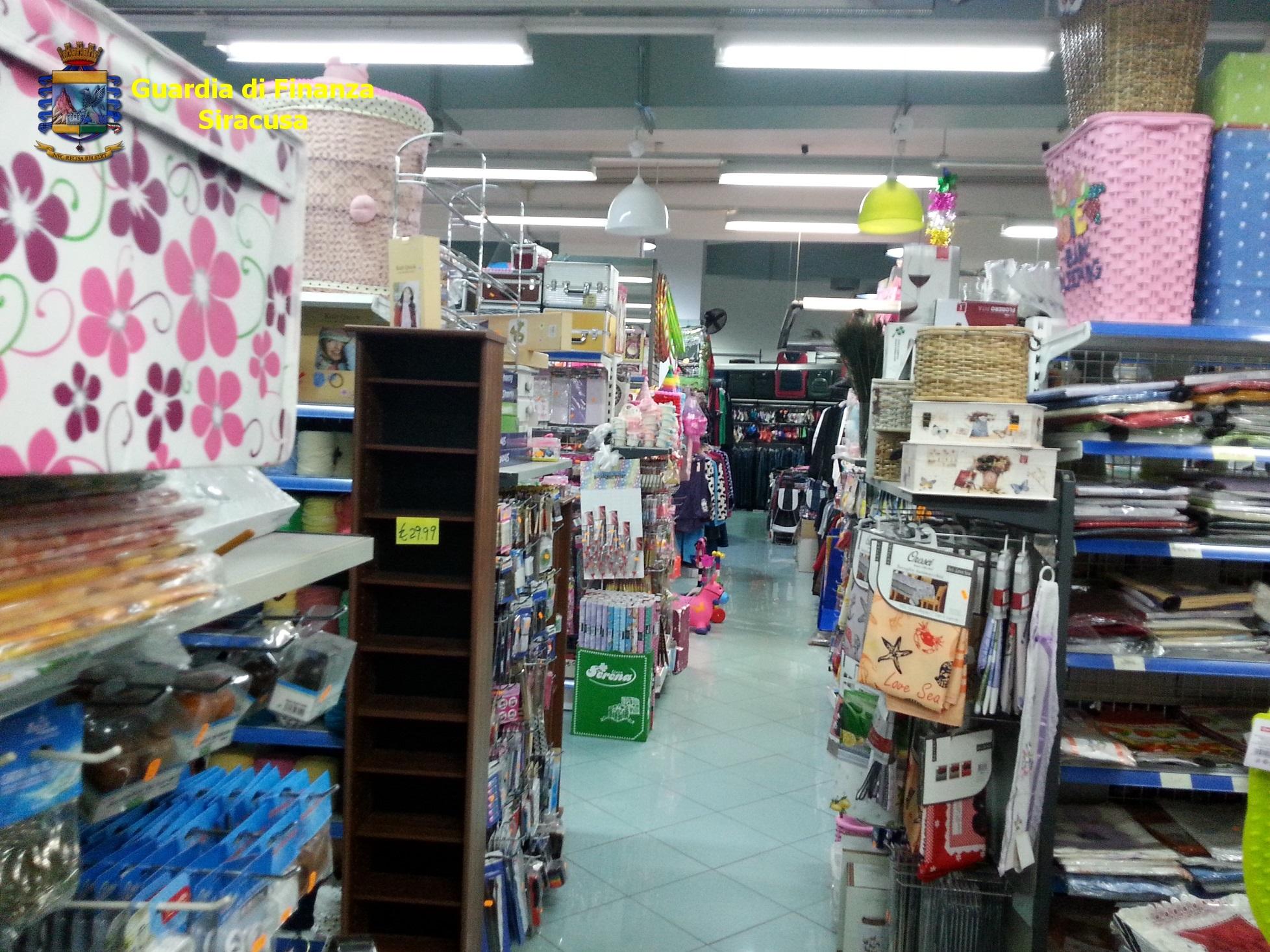 Blitz in negozi cinesi: sequestrati 2 milioni e 400.000 articoli