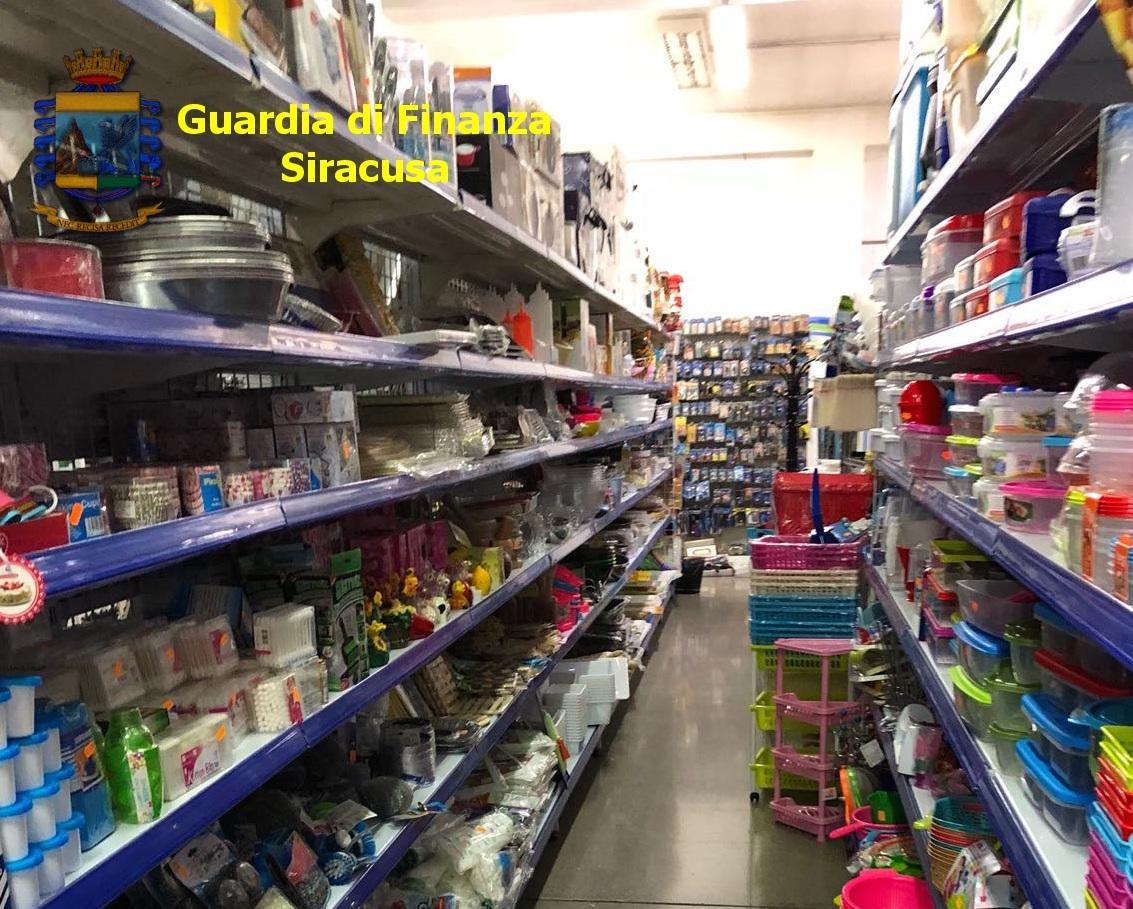 Sequestrati quasi 2 milioni di prodotti non sicuri nel Siracusano