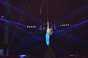 Catania, spettacolo del circo Orfei per i terremotati del Centro Italia