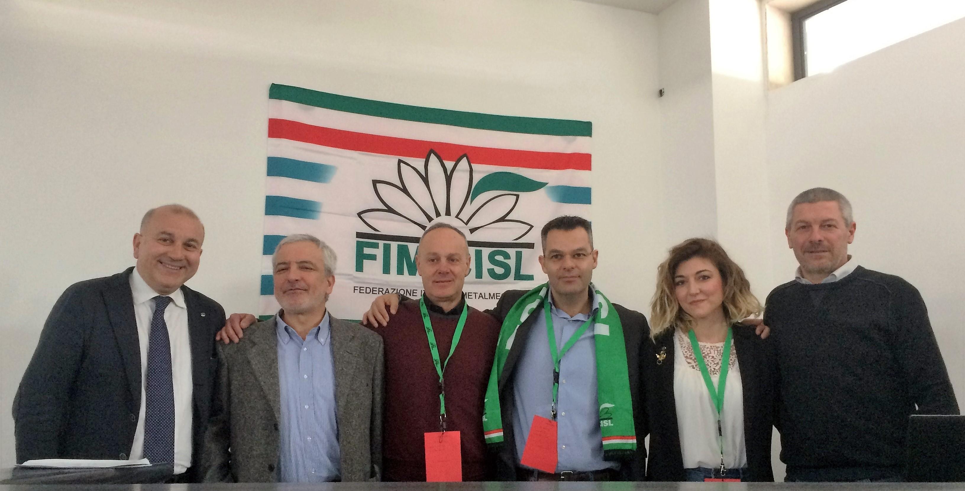 Il floridiano Roberto Getulio confermato segretario dei metalmeccanici della Cisl