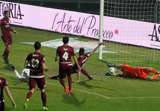 Il Trapani interrompe la serie utile, sconfitto nel finale dal Cittadella per 3 a 2