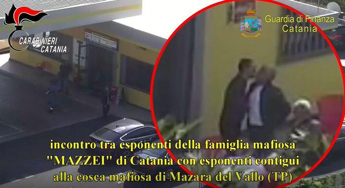 'Patto d'onore' tra clan di Catania e Mazara del Vallo: 15 arresti (FOTO - VIDEO)
