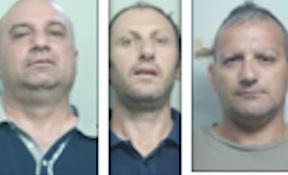 Mafia e Usura a Catania, tre esponenti del clan Piacenti in carcere