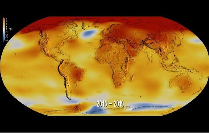 Clima, decennio da record: ultimi dieci anni più caldi dal 1880