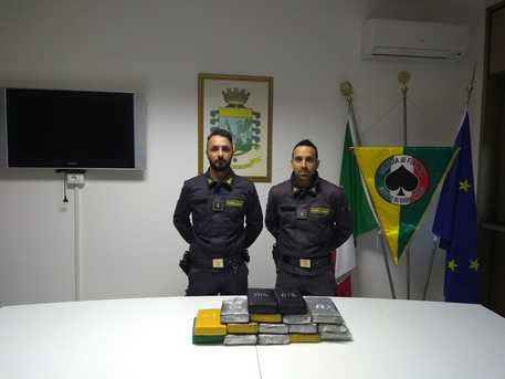Droga, sequestrati 17 chili di cocaina nel porto di Gioia Tauro