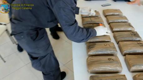 Droga, 216 chili di cocaina sequestrati al porto di Gioia Tauro