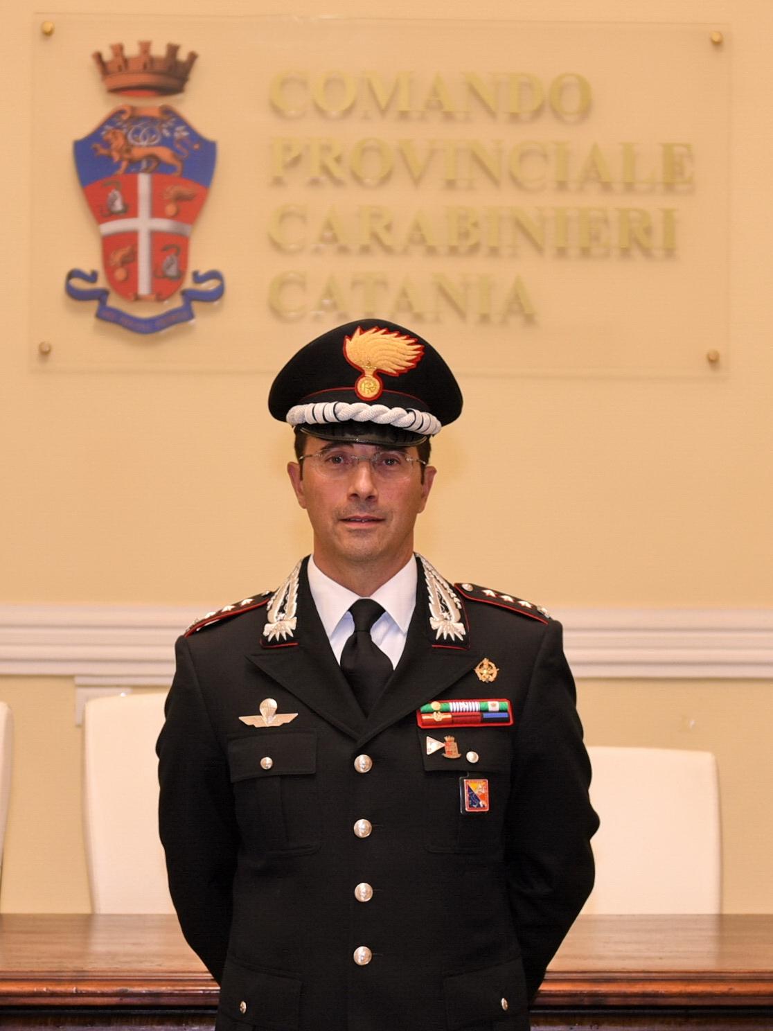 Colonnello Coppola nuovo comandante carabinieri Catania