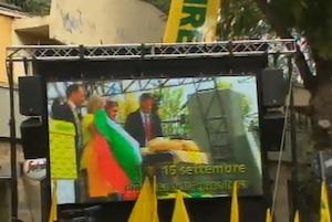 """""""No all'olio dalla Tunisia"""", la protesta degli agricoltori del Sud a Catania"""
