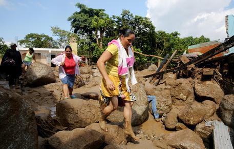 Due italiani dispersi dopo una valanga di fango in Colombia