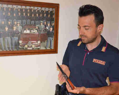 Coltello in valigia all'aeroporto di Comiso, denunciato un milanese