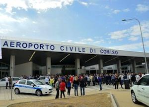 Decolla l'aeroporto di Comiso, ad aprile un incremento di passeggeri del 46,3%