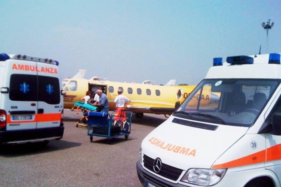 Aperto l'aeroporto di Comiso per emergenza sanitaria: paziente a Milano