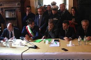 Il governatore Musumeci incontra i vertici di 'Vittoria Mercati'