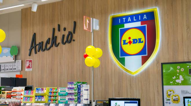 Commercio: Lidl apre nuovo punto vendita 'green' a Gravina