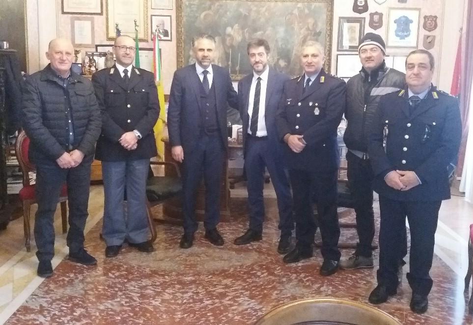 Modica, il nuovo dirigente del Commissariato ricevuto in Municipio
