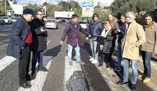 """Catania, """"Si migliori la mobilità tra via Teseo e via Acicastello"""""""