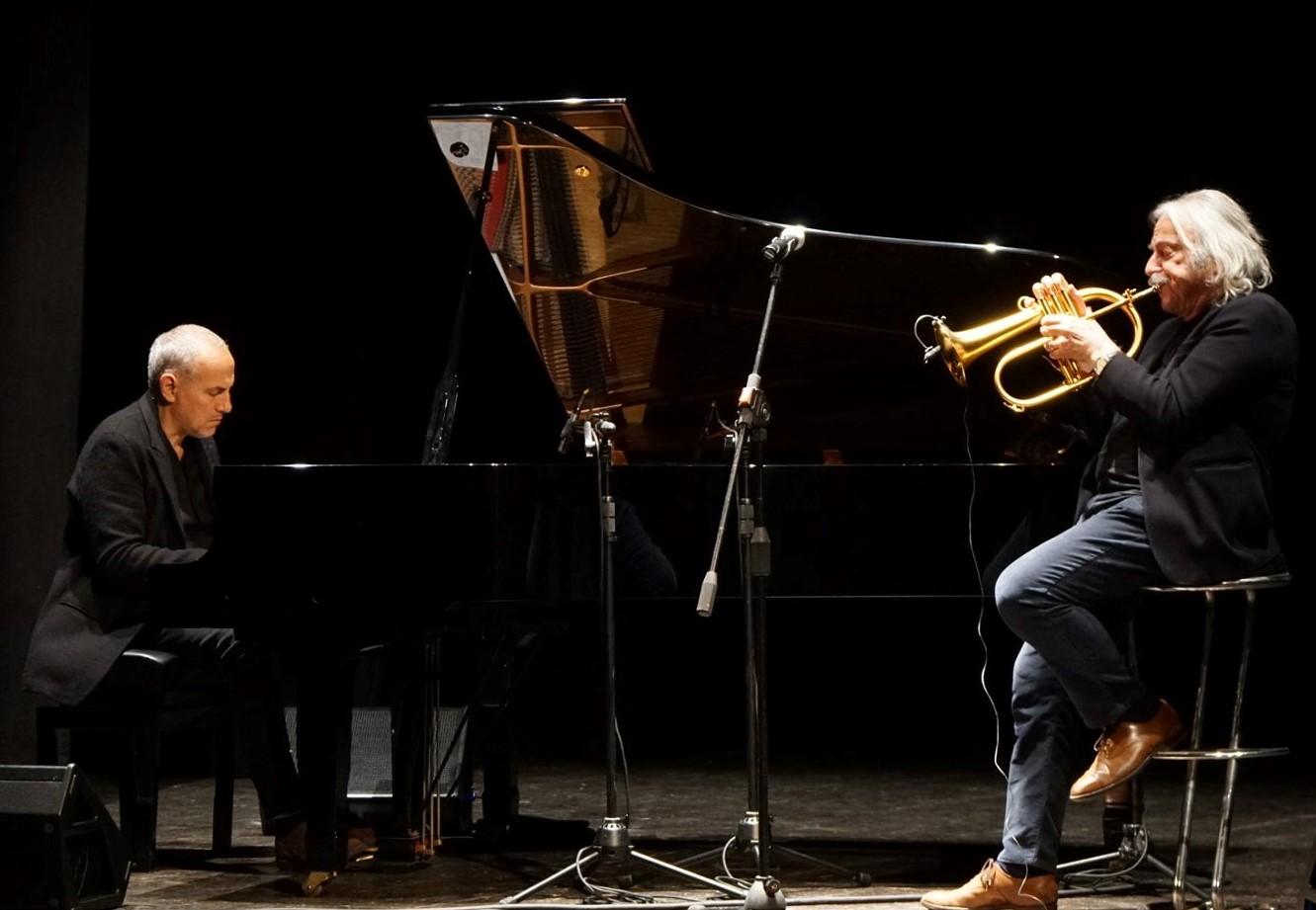 Modica, Enrico Rava e Danilo Rea incantano il pubblico del Teatro Garibaldi