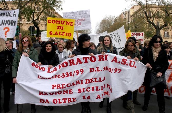 """Confintesa Sicilia: """"Erogare i sussidi Asu ed ex-Pip sia priorità della Regione"""""""