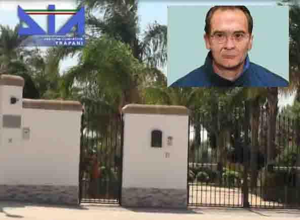 Trapani, confiscati i beni al cugino del boss Matteo Messina Denaro