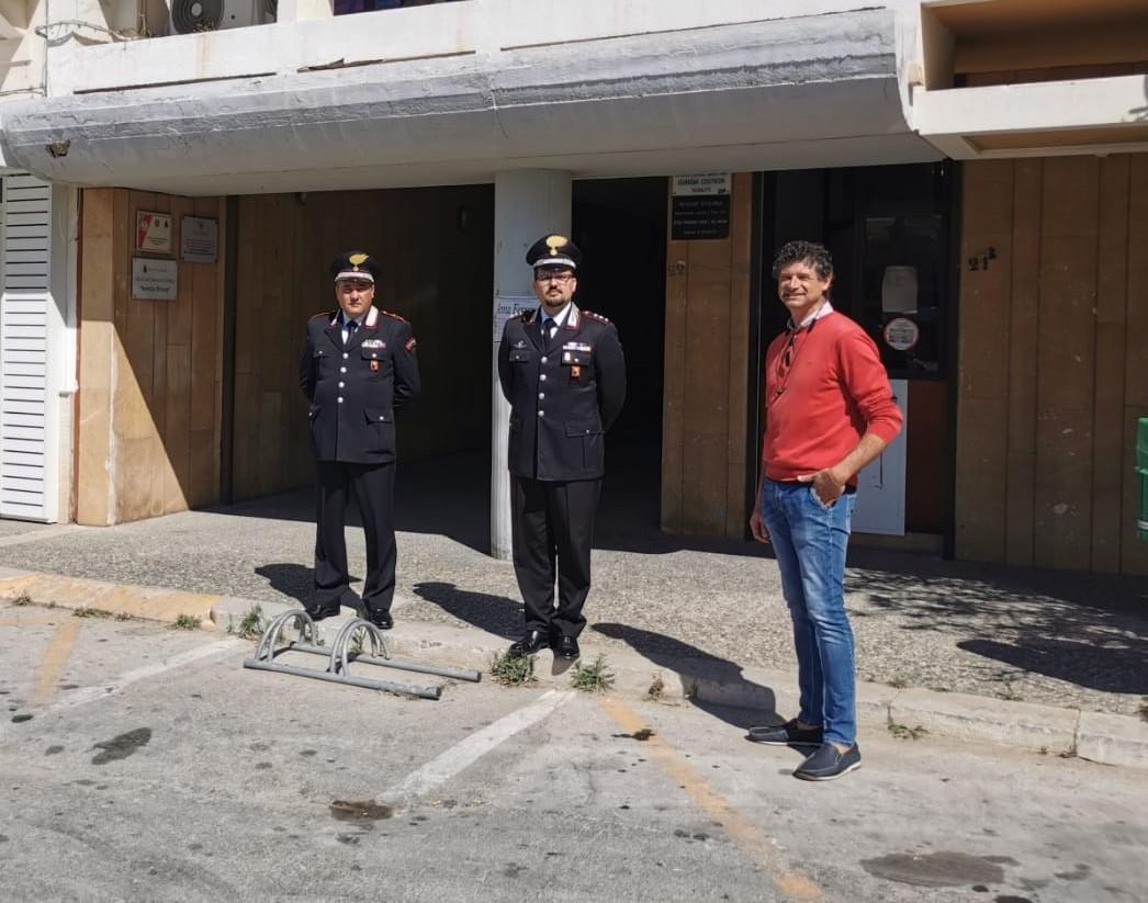 Vittoria, consegnati i lavori per la Stazione dei Carabinieri di Scoglitti