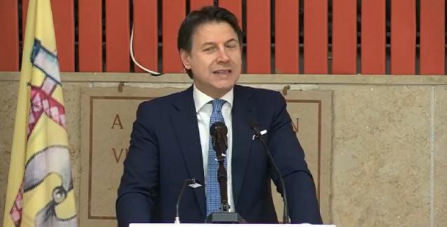 Il premier Conte a Gioia Tauro per presentare il Piano decennale per il Sud
