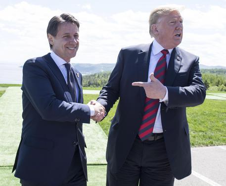 G7, Trump vede Conte e lo invita alla Casa Bianca