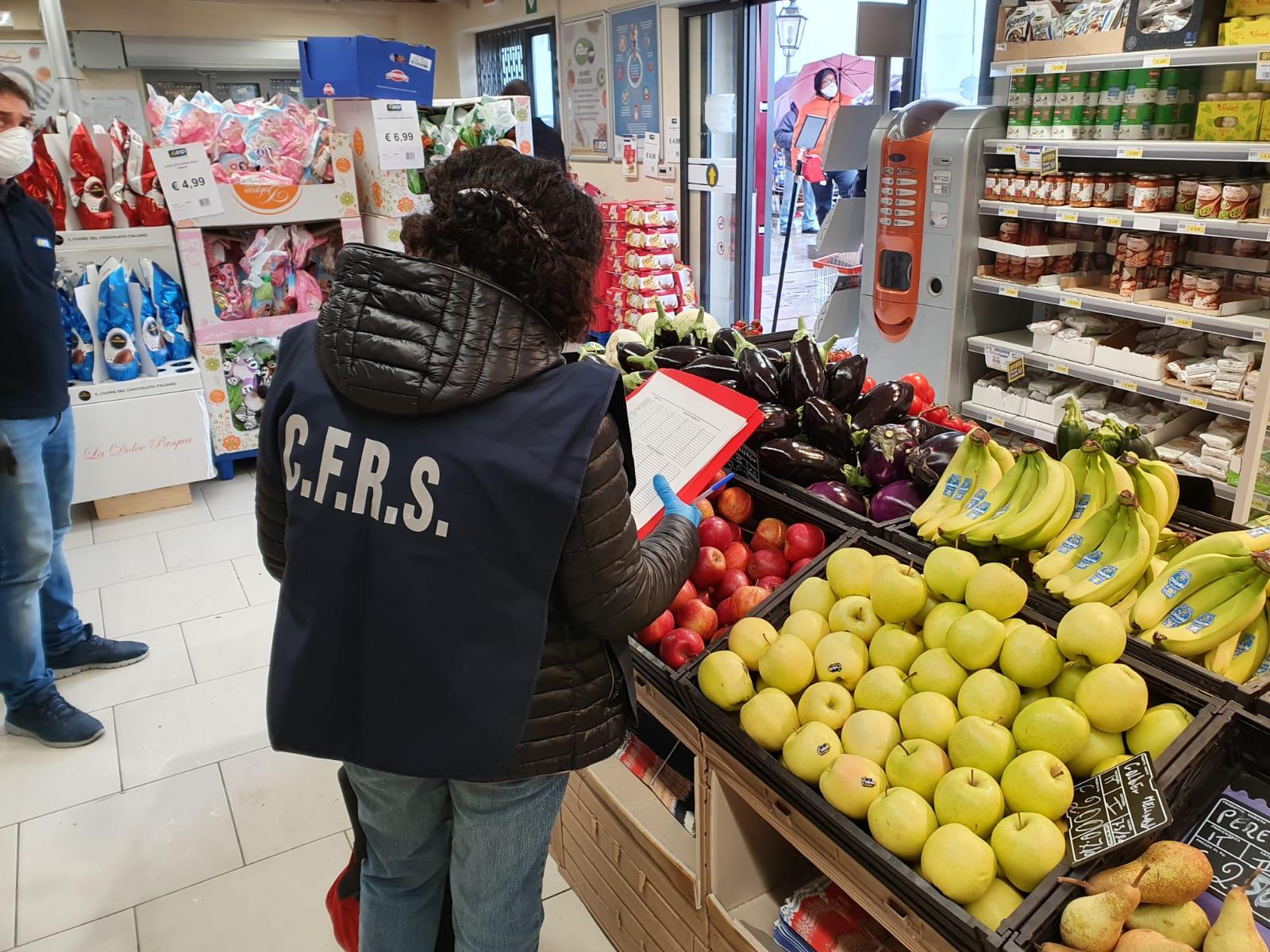 Controlli dei prezzi in Sicilia, la Forestale eleva 46 verbali amministrativi