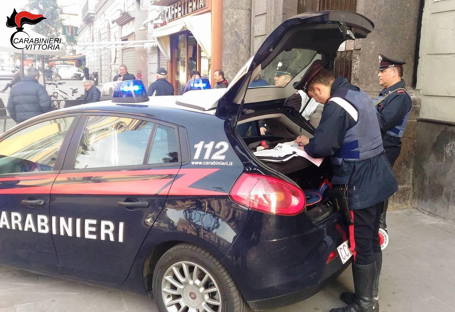 Controlli anticrimine nel Ragusano, tre arresti dei carabinieri