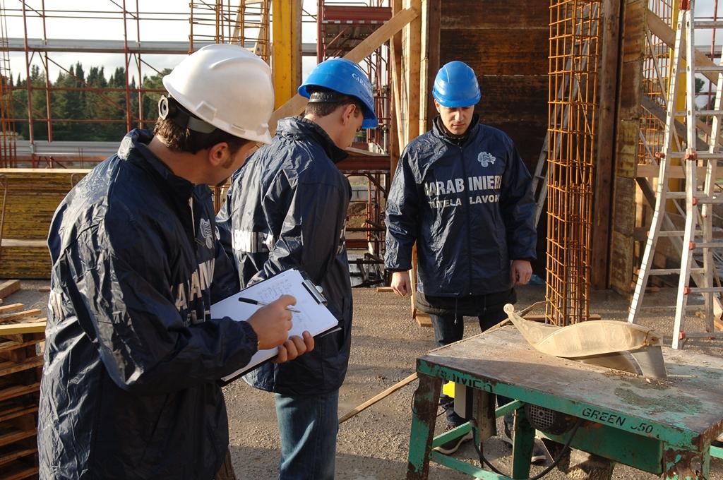 Controlli nei cantieri edili di Melilli, società multata per motivi di sicurezza