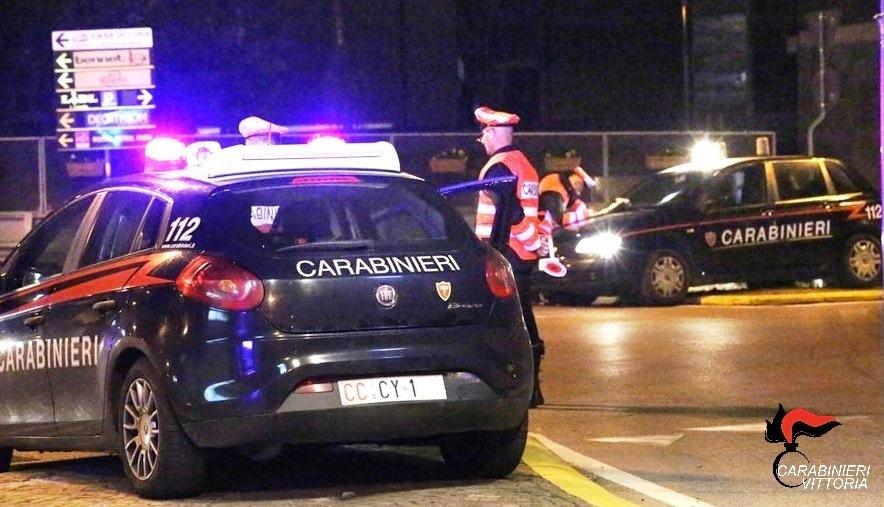Vittoria nel mirino dei carabinieri, controlli a tappeto: 3 arresti