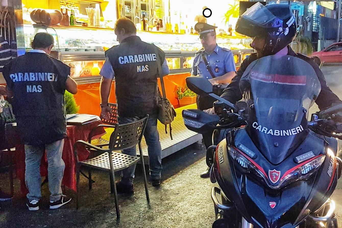 Street food a Catania, il Nas sequestra alimenti al lungomare