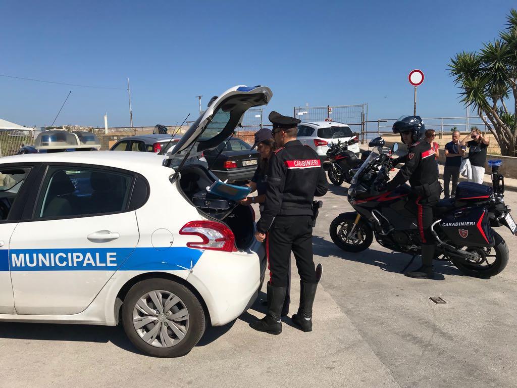 Carabinieri e polizia uniti contro l'abusivismo a Siracusa