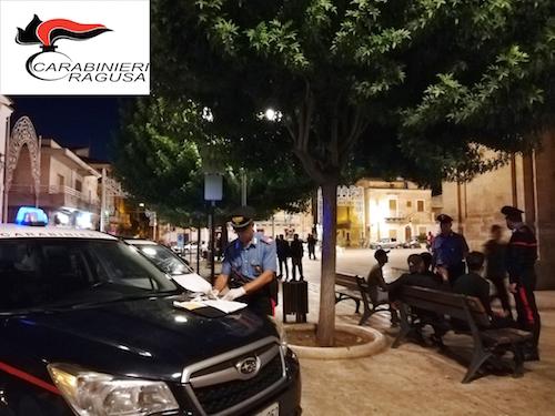 Droga e guida senza patente, multe e denunce a S.Croce Camerina