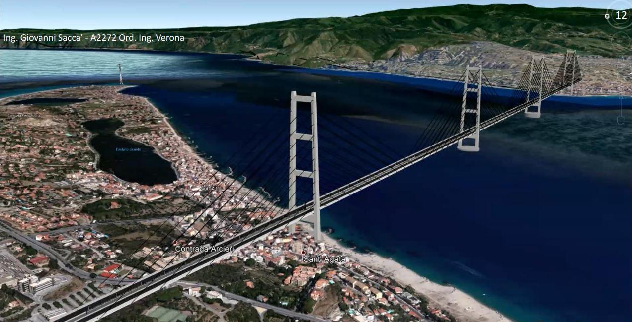 """Il ministro delle Infrastrutture: """"Avviare uno studio di fattibilità per il Ponte di Messina"""""""