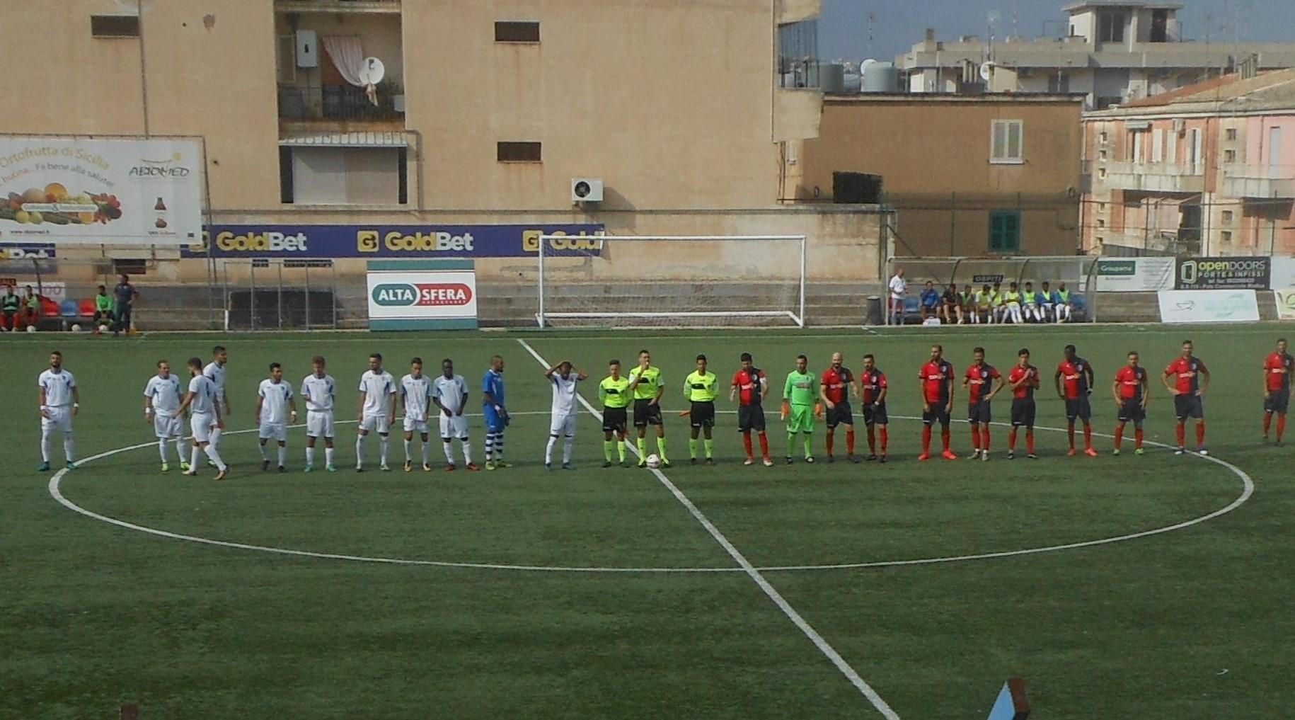 Calcio, Promozione: il derby di Coppa tra Modica e Ragusa finisce in parità (2 a 2)