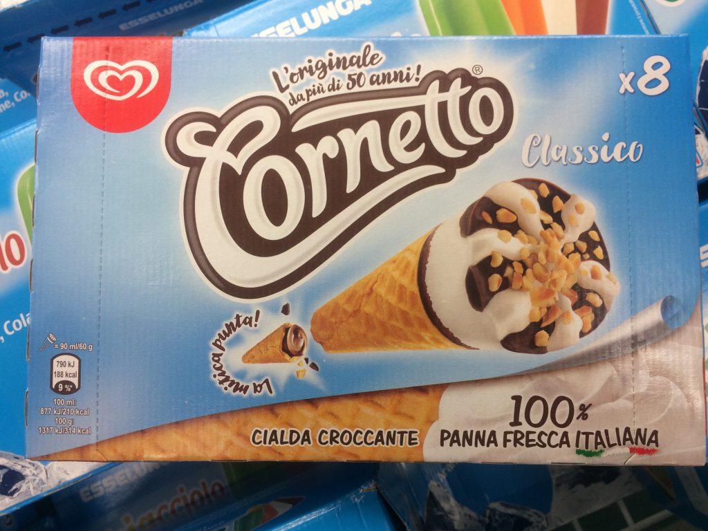 Compie 60 anni il cornetto Algida: ora è gelato cosmopolitan
