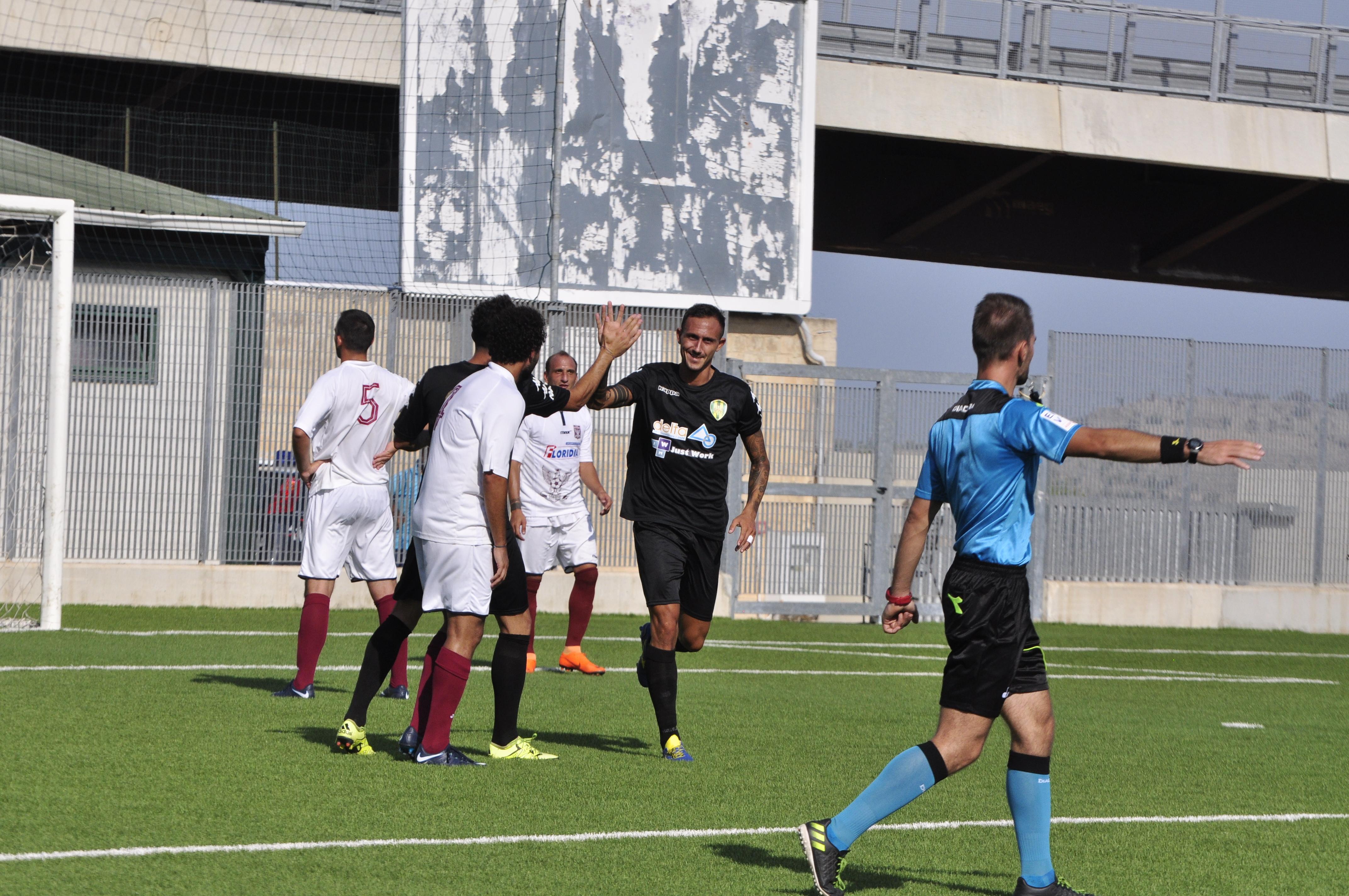 Coppa Italia, il Palazzolo chiude la pratica Rosolini con una doppietta di Cortese