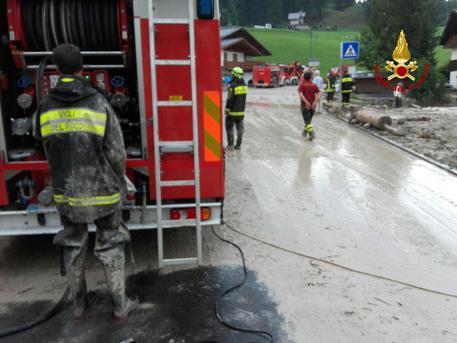 Bomba d'acqua a Cortina d'Ampezzo, una persona morta