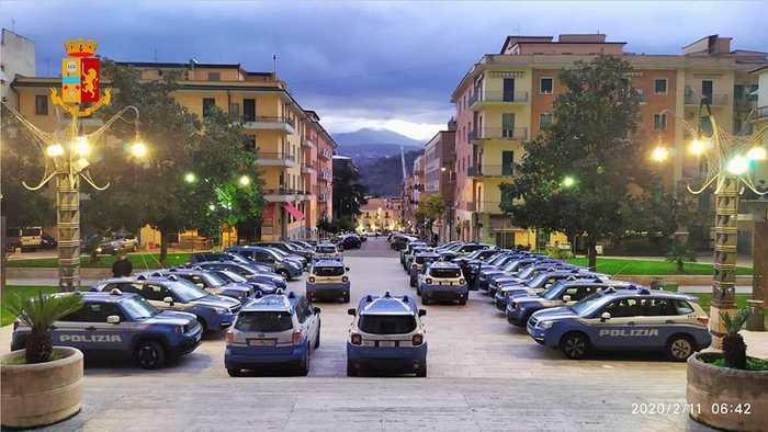 Narcotraffico, decimata la famiglia Presta: 45 misure cautelari a Cosenza