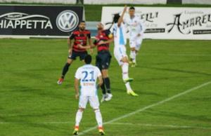 Catania sornione, a Cosenza rimonta e poi vince per 1 - 2