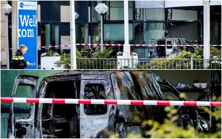 Olanda: attacco al Telegraaf, furgone contro la sede del giornale