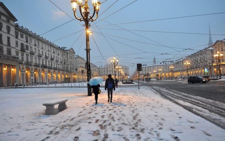 Maltempo: irruzione polare, neve al nord anche a bassa quota