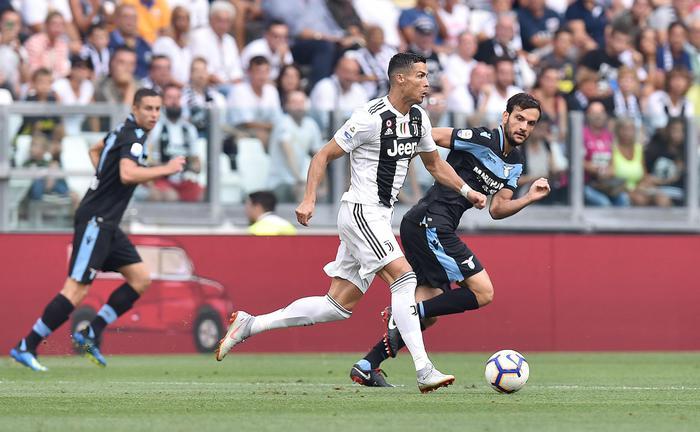 La Juve liquida la Lazio ( 2 - 0) ma Cristiano Ronaldo resta allìasciutto