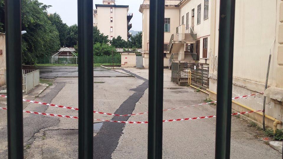 """Crolla cornicione in una scuola di Palermo, il M5s: """"Basta sfidare la sorte"""""""