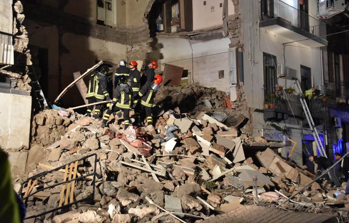 Crollo a Catania: bimba stabile, invariato l'edema cerebrale