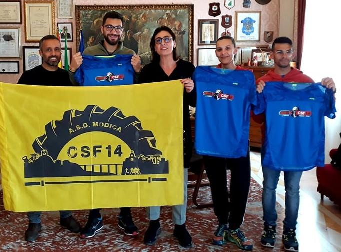 Modica, ricevuti dall'assessore Monisteri i finalisti dell'OCR World Championship