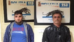 Catania, bloccati alla Zia Lisa dopo un inseguimento: sono accusati di furto