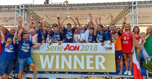Il Catania vince lo scudetto di beach Soccer: battuta in finale la Samb