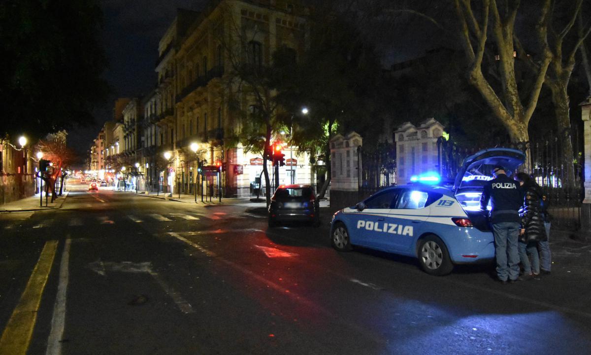 Trovati fuori da casa senza motivi validi, 14 denunciati a Catania